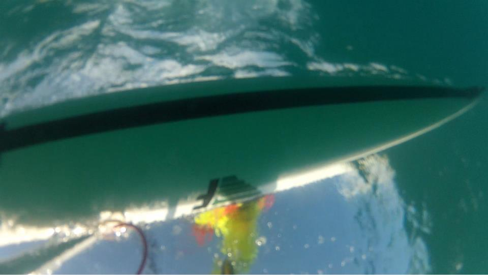 Visibility off a kayak